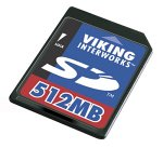 Viking Secure Digital memory card